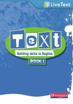 Text: Building Skills in English 11-14 LiveText 1: Book 1