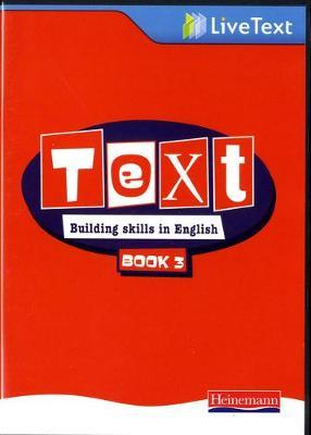 Text: Building Skills in English 11-14 LiveText 3