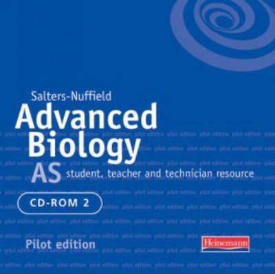 Salters Nuffield Advanced Biology AS Pilot CDROM 2