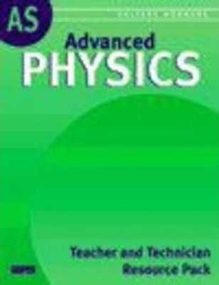 Salters Horners Advanced Physics AS Teacher and Technician Resource Pack with CD-ROM