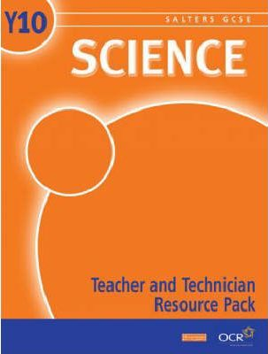 Salters GCSE Science Teacher and Technician Resource Pack Year 10