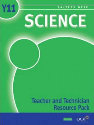 Salters GCSE Science Teacher and Technician Resource Pack Year 11