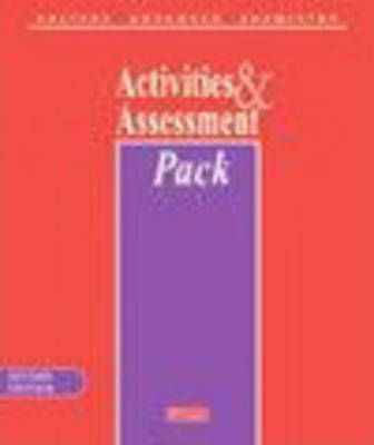 Salters Advanced Chemistry Activities & Assessment Pack with CD-ROM