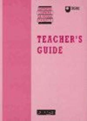 Supported Learning in Physics Project: Teacher's Guide