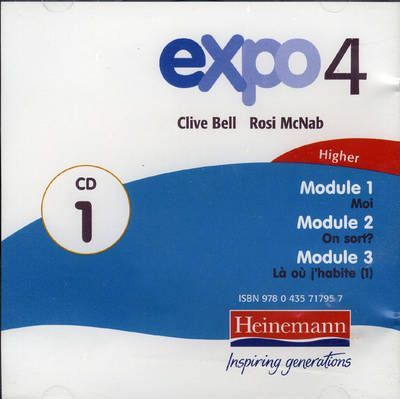 Expo 4 Higher CDs (pack of 4)