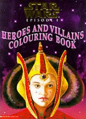 Heroes and Villains Colouring Books: Heroes and Villains Colouring Book