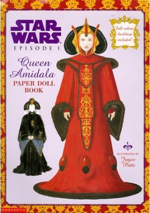 Queen Amidala Paper Dolls
