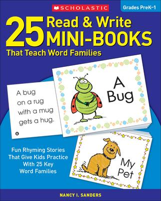 25 Read & Write Mini-Books