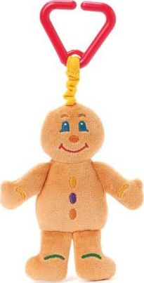 Gingerbread Man Attachable Toy
