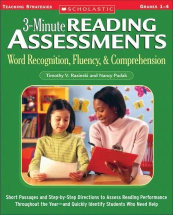 3-Minute Reading Assessments: Grades 1-4 : Word Recognition, Fluency, & Comprehension