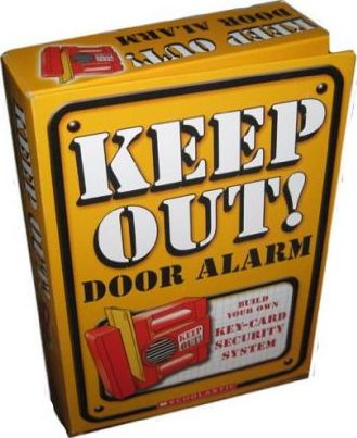 Keep Out! Door Alarm