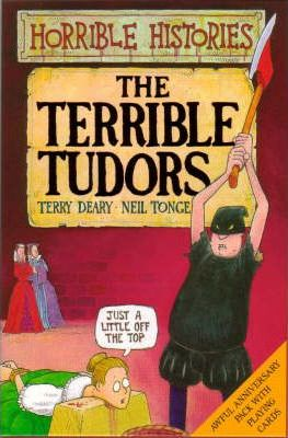 Terrible Tudors Book and Playing Cards Pack