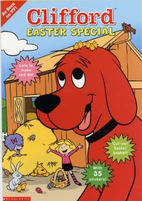 Clifford Sticker Activity;Clifford Easter Special
