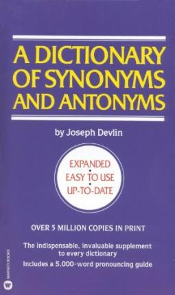 synonyms and antonyms dictionary free