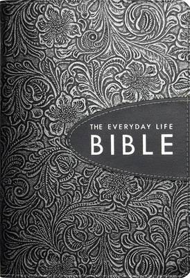 Everyday Life Bible Pewter Bonded Leather