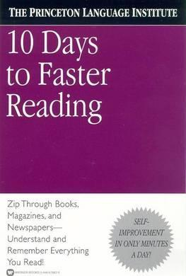 Ten Days to Faster Reading