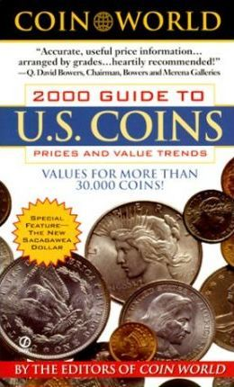 2000 Guide to Us Coins, Prices