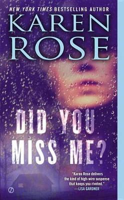 Did You Miss Me? Cover Image