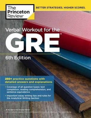 Verbal Workout For The Gre Princeton Review 9780451487858
