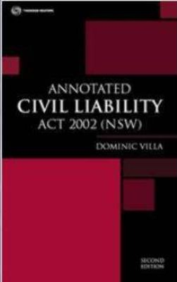 Annotated Civil Liability Act 2002