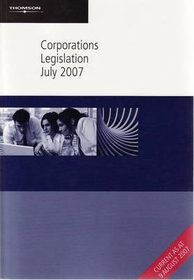 Corporations Legislation July 2007