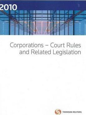 Corporations - Court Rules 2010