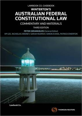Winterton's Australian Federal Constitutional Law  Commentary and Materials