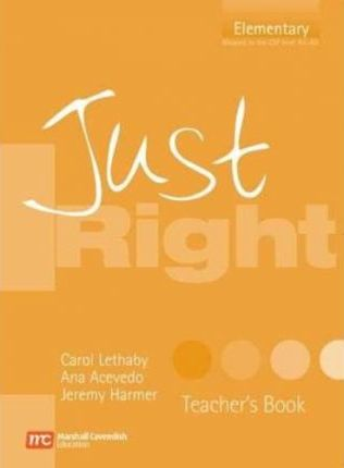 Just Right - Elementary Teacher Book - CEF A1 / A2