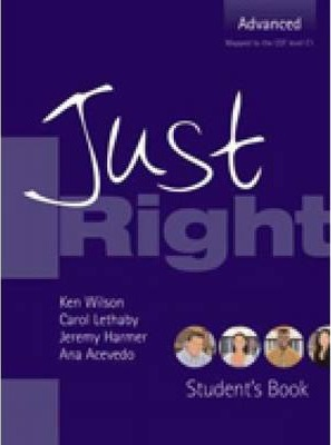 Just Right - Advanced Workbook - With Key and Audio CD - CEFC1