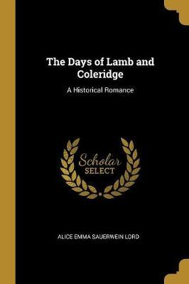 The Days of Lamb and Coleridge