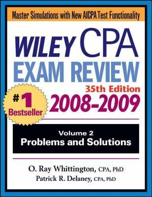 Wiley CPA Examination Review 2008-2009  Problems and Solutions