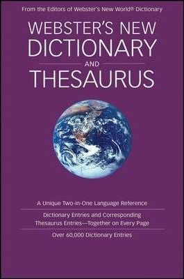 Webster's New Dictionary and Thesaurus
