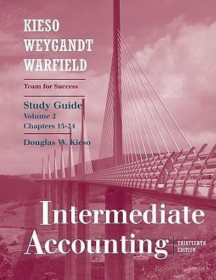 Intermediate Accounting Study Guide V 2 Chapters 15 24