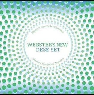 Webster's New Dictionary and Thesaurus Set