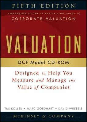 Valuation DCF Model, CD-ROM