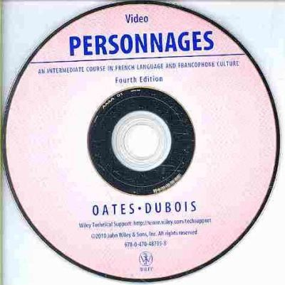 Personnages, Fourth Edition Video