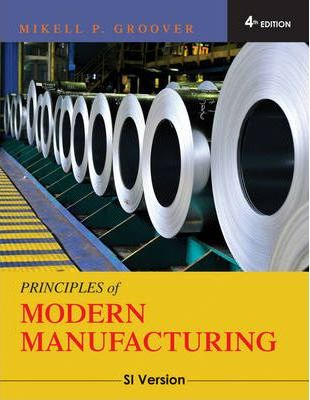 Groover Fundamentals Of Modern Manufacturing Pdf