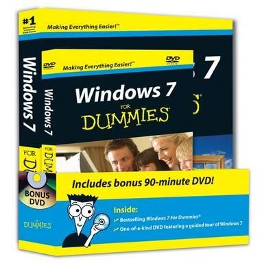 Windows 7 for Dummies (R) Dvd+book Bundle