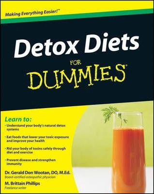 Detox Diets For Dummies – Gerald Don Wootan