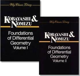Foundations of Differential Geometry, 2 Volume Set