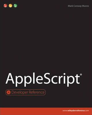 AppleScript : Mark Conway Munro : 9780470562291