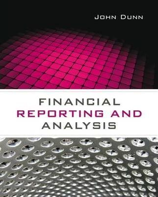 Financial Reporting and Analysis