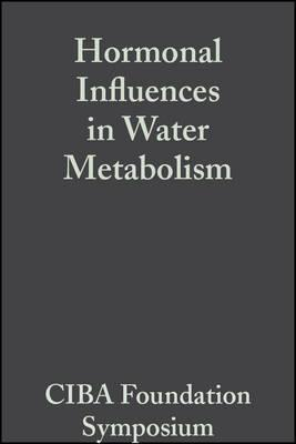 Hormonal Influences in Water Metabolism, Volume 4