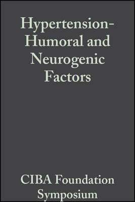 Hypertension-Humoral and Neurogenic Factors