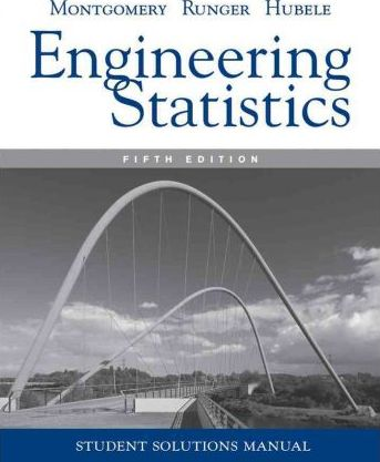 student solutions manual engineering statistics 5e douglas c rh bookdepository com Uses of Statistics in Engineering Measurement and Statistics in Engineering