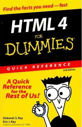 HTML 4 For Dummies Quick Reference