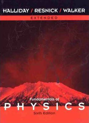 Fundamentals Of Physics Extended 6th Edition