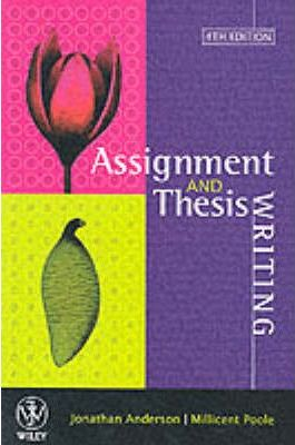 anderson durston and poole thesis and assignment writing