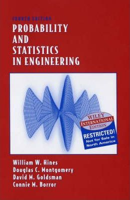 Probability and Statistics in Engineering : Douglas C