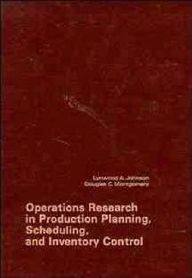 Operations Research in Production Planning, Scheduling and